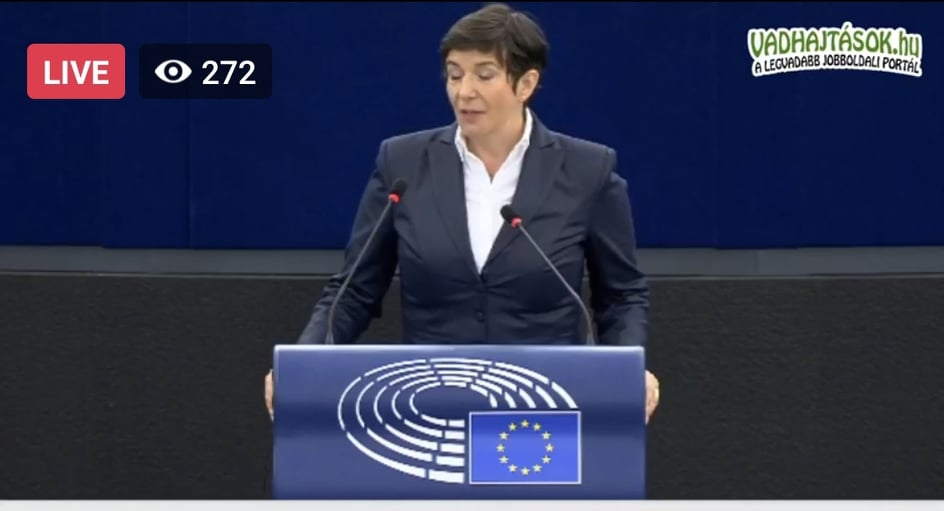 """Dobrev az EP-ben: """"az országot túszul ejtette egy velejéig korrupt politikus"""""""
