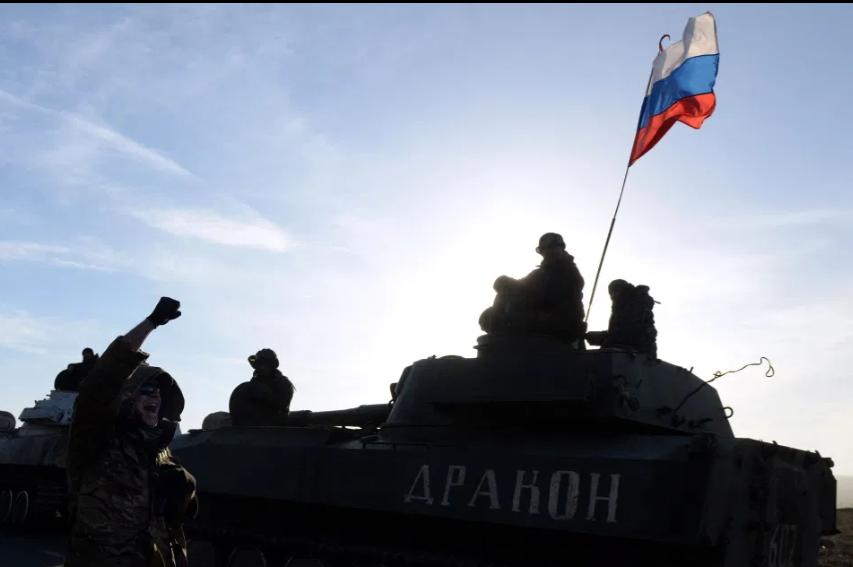 Putyin félelemet nem ismerő robothadserege már készen áll a bevetésre, ha a helyzet fokozódna Ukrajnával