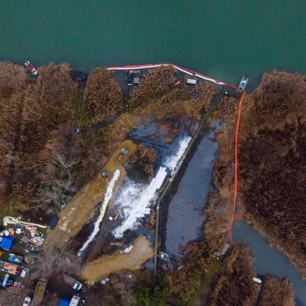 Rendőrkézen a szigetszentmiklósi olajszennyezés elkövetője