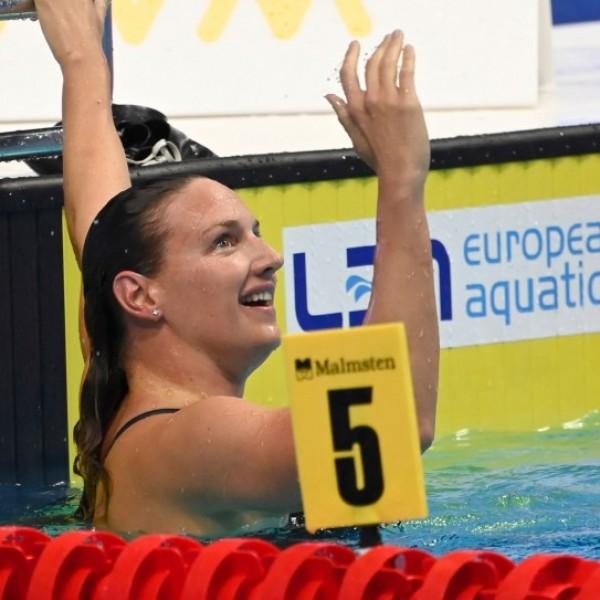 Hosszú Katinkáé a budapesti úszó-Eb első aranyérme