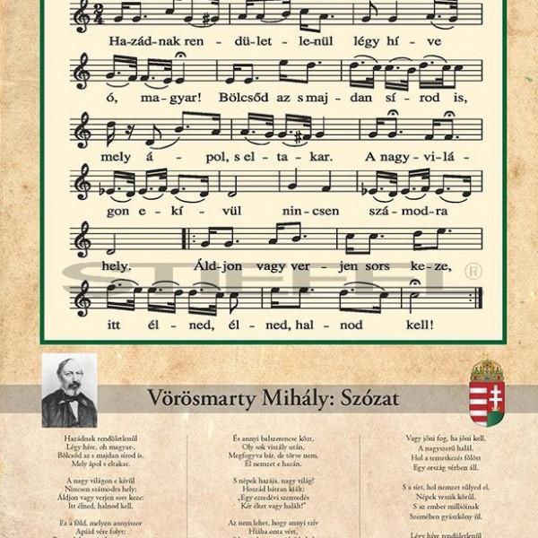 178 éve először mutatták be az Egressy Béni által megzenésített Szózatot