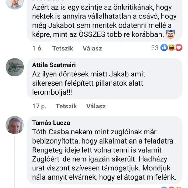 Háború: Hadházyt kicsinálják Zuglóban, a Jobbik is beállt a kommunista Tóth Csaba mögé, együtt végzik ki