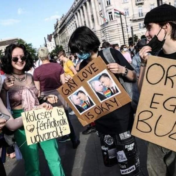 Újabb tüntetést szerveznek a buzik a pedofiltörvény ellen