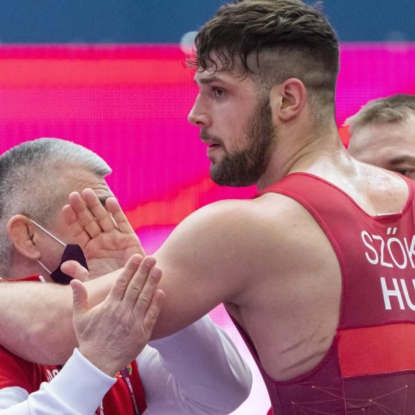 A magyar-lengyel bronzmeccsen Szőke Alex maradt alul