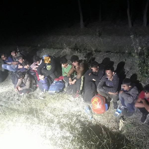 Több mint 1300 migránst kaptak el a rendőrök a hétvégén
