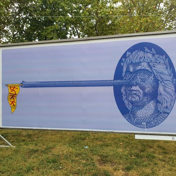 Megnyílt a magyargyűlölő ARC kiállítás a Bikás parkban