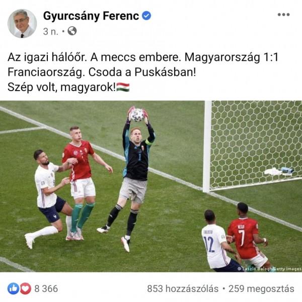 """Ujhülye: """"Hajrá magyarok!"""""""