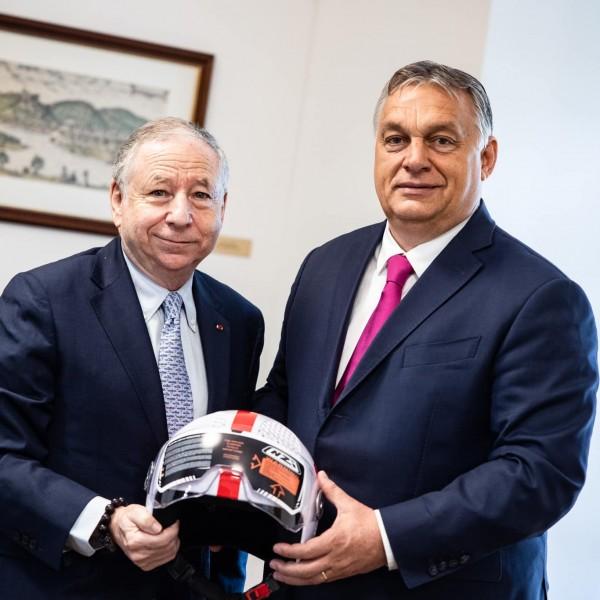 Orbán Viktor fogadta a Nemzetközi Automobil Szövetség elnökét