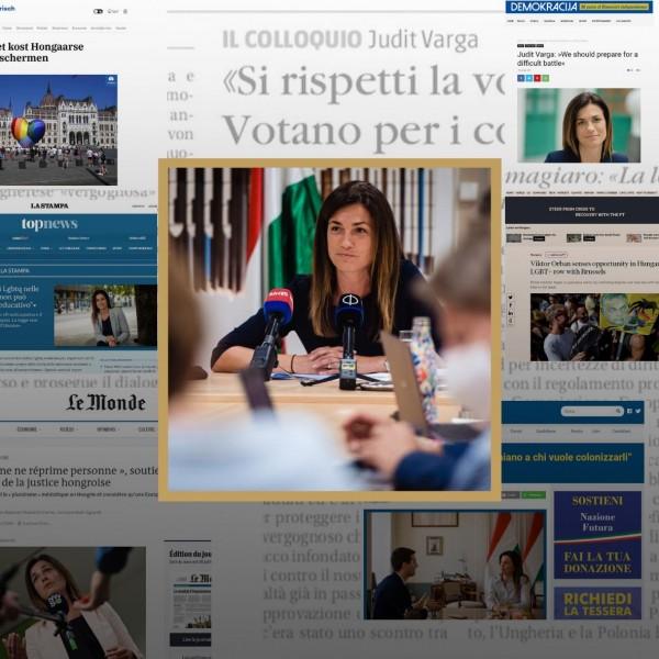 Varga: Judit: Repedezik a brüsszeli buborék