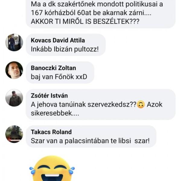 Ezrek tapossák el a Cseh Katalin nevű szardarabot Facebook-oldalán