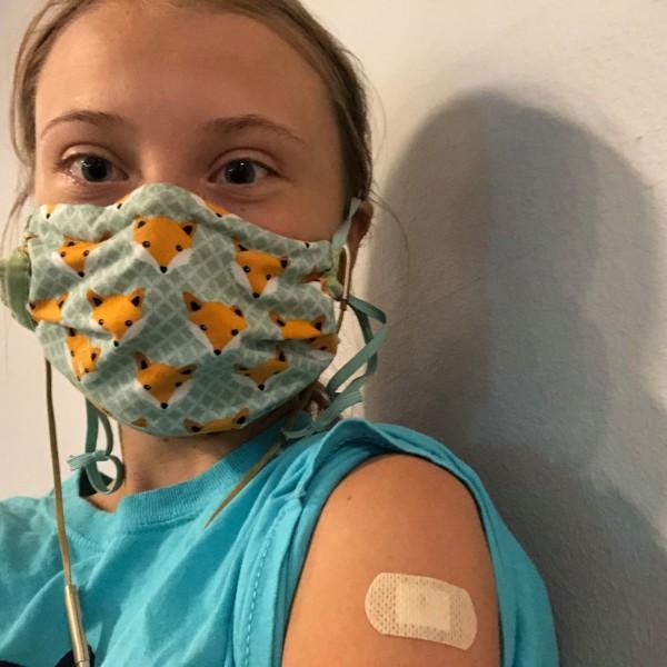 Megkapta első oltását Greta Thunberg, aki rögtön a vakcinák igazságtalan elosztására hívta fel a figyelmet