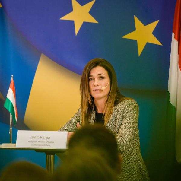 Varga Judit: Nem akarunk európai birodalomban élni