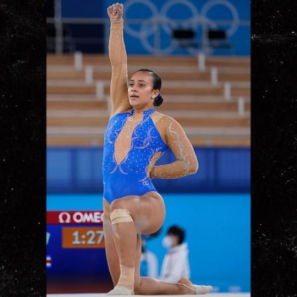 Az olimpián is megjelent a BLM