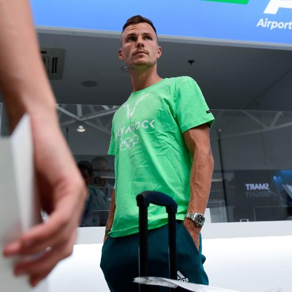 Fucsovics Márton vállsérülés miatt visszalépett az olimpia tenisztornájától