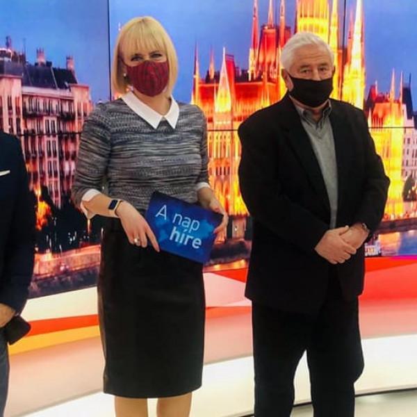 Besz@rás: Jákob parizeres akcióját az ATV-ben is kigúnyolták - Videó