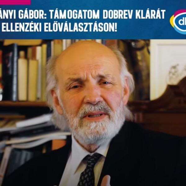 Iványi: Nem azt mondtam, hogy én Dobrev Klárát támogatom, hanem én támogatom Dobrev Klárát