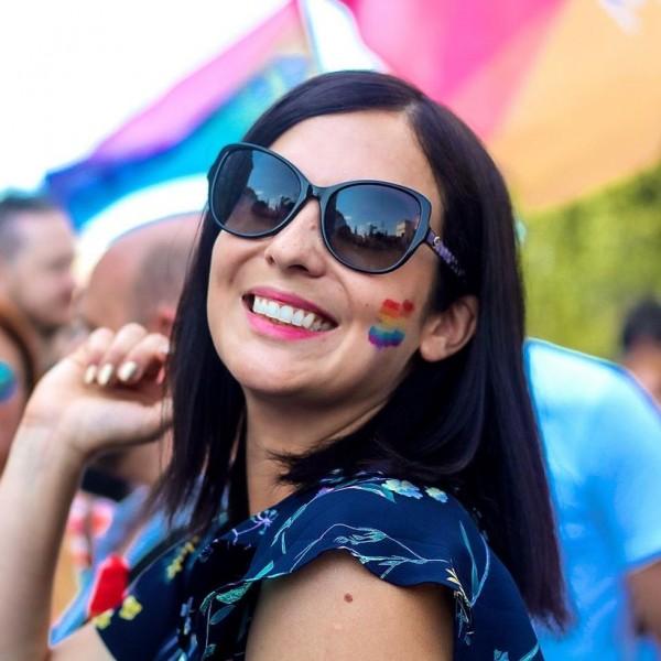 Cseh Katalin még mindig a Pride hatása alatt van, akkora élmény volt