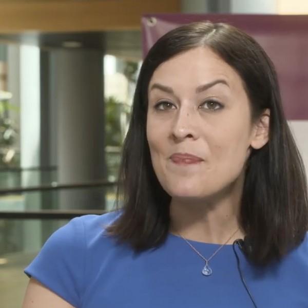 Ismét alelnöknek választotta Csekk Katalint a Momentum EP-frakciója