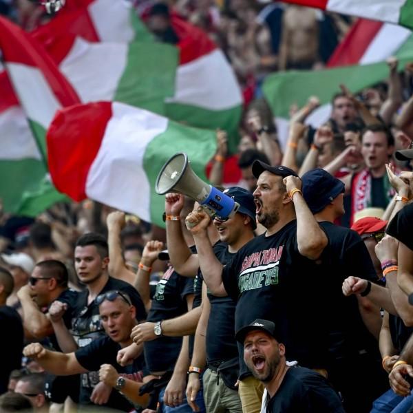 A Deutsche Welle szerint a Carpathian Brigade egy neonáci ultracsoport