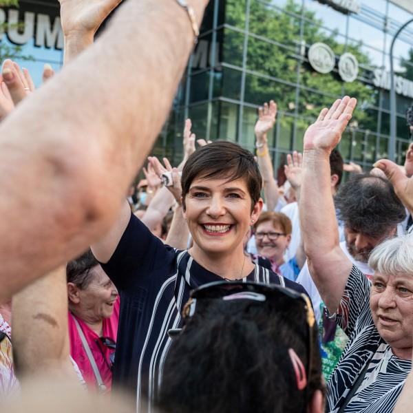 DK: Ha Dobrev lesz a miniszterelnök, a magyarok tovább fognak élni