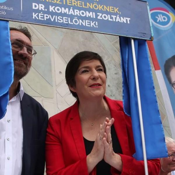 Závecz Research: Dobrev Klára nyerte a miniszterelnök-jelöltek vitáját
