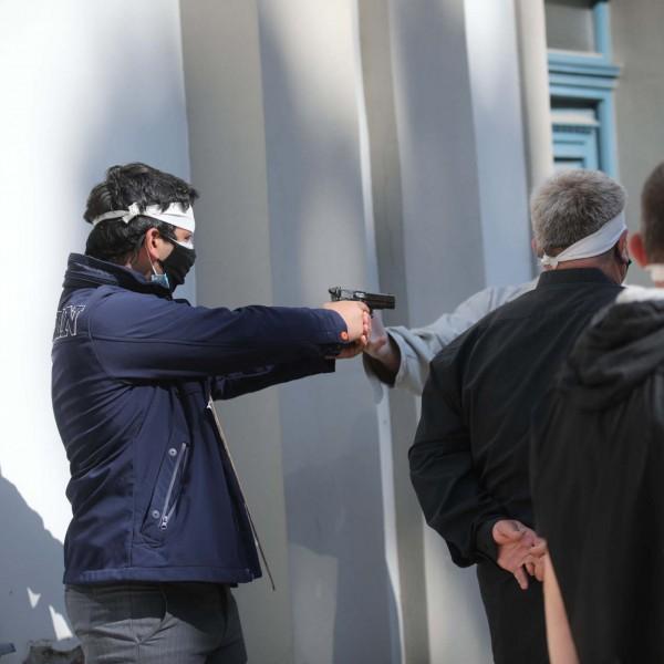 Keményedik a kampány: Fejbe akarták lőni a DK-sokat gázpisztollyal Egerben Dobrev körútján