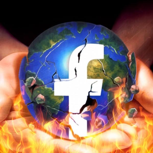 A Facebook most a klímaválság tagadói ellen fog fellépni