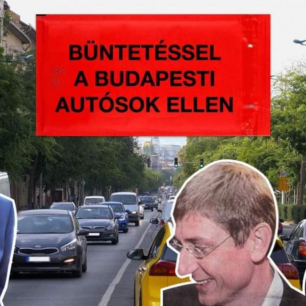 Volner János szerint Karácsony megint rá fog támadni a budapesti autósokra