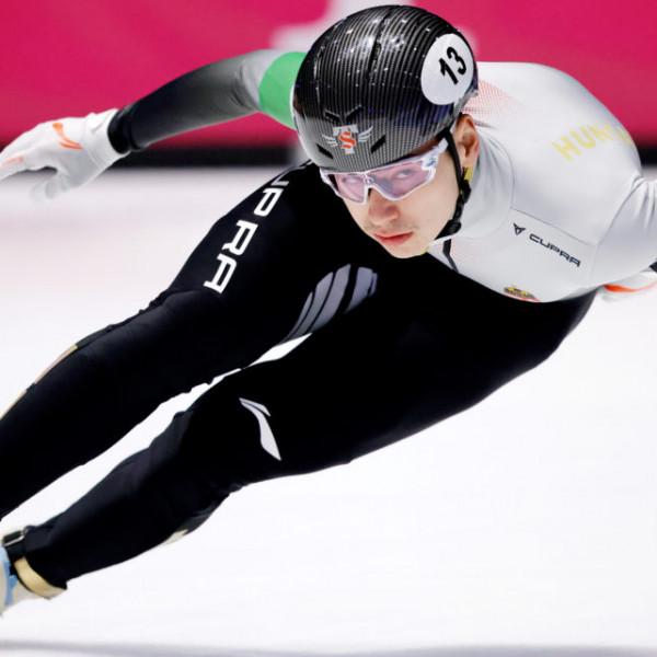 Liu Shaoang aranyérmes 500 méteren a rövidpályás gyorskorcsolya vb-n