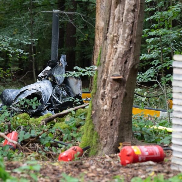 Lezuhant egy helikopter Németországban, hárman meghaltak
