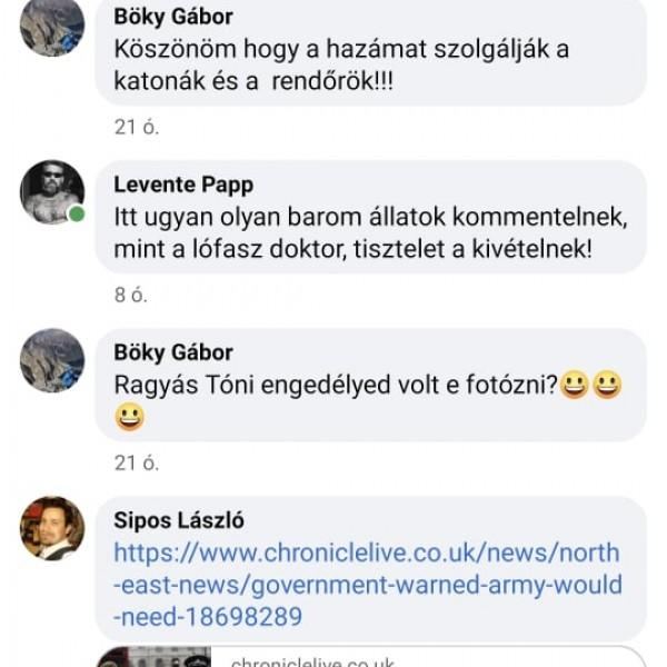 Hadházy nem tudta, hogy miért van a katonáknál fegyver, a kommentelők világosították fel a lódoktort