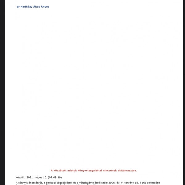 Közel Hadházy bukása: Durva adócsalást követ el, újabb iratokat hozunk nyilvánosságra