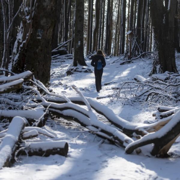 Hó borítja Kékestetőt - fotók