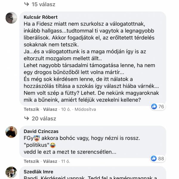 FeGyőrt lerohanták a szurkolók, és megkérték vegye le a magyar mezt magáról