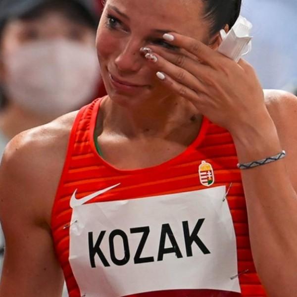"""""""Ez az, amiről az olimpia szól"""" - Kozák Luca sportszerű gesztusáról az olimpia Twitter-oldalán is megemlékeznek"""