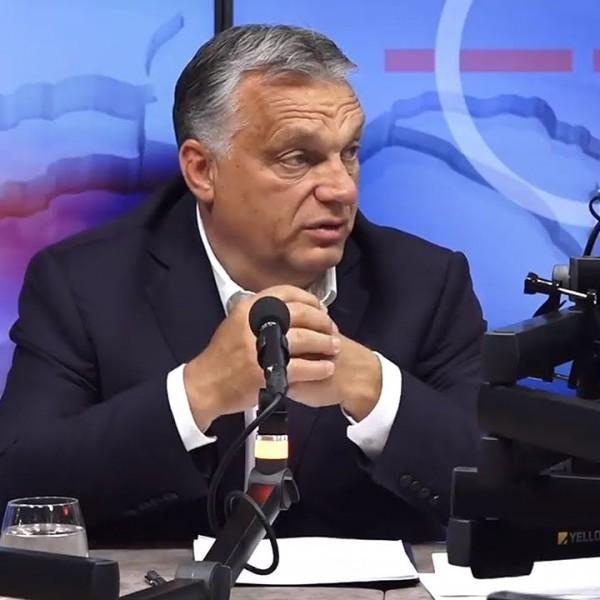Az elszigetelés és a maszk nem oldja meg a problémáinkat - jelentette ki Orbán Viktor