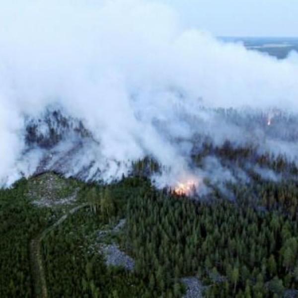 Az elmúlt fél évszázad legsúlyosabb erdőtüze pusztít Finnországban