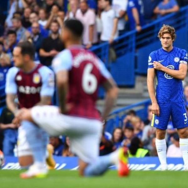 Marcos Alonso nem térdelt a Tottenham–Chelsea meccs előtt