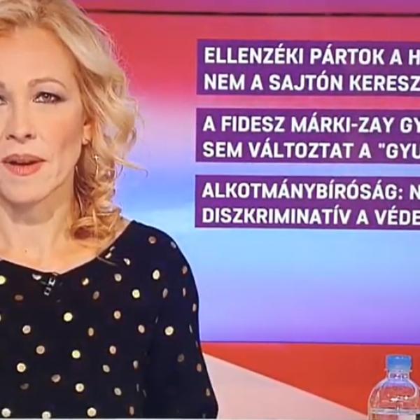 Az ATV betelefonálója annak örül, hogy az ellenzék nyerte az előválasztást - Videó