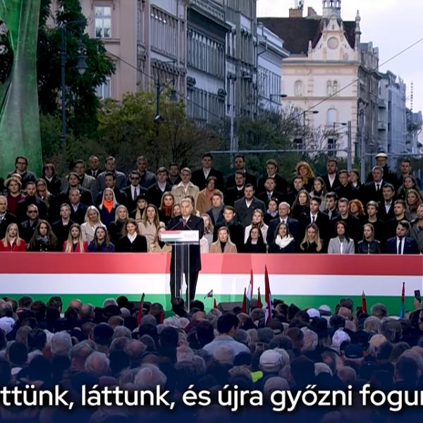 Orbán Viktor: Jöttünk, láttunk és újra győzni fogunk!