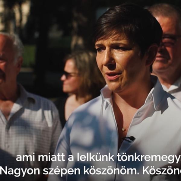 Dobrev utcafórumán egy apuka gyerekével a nyakában panaszkodik, hogy nem tud elmenni a nyaralni - Videó