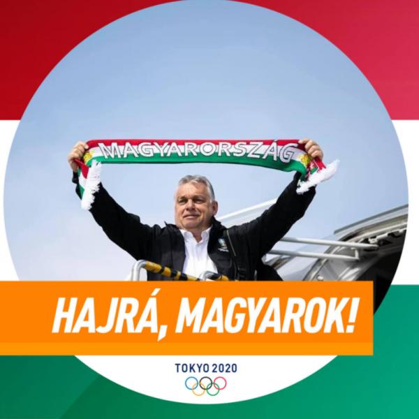 Orbán Viktor: Ide veled, régi kardunk! Bravo, Szilágyi Áron!
