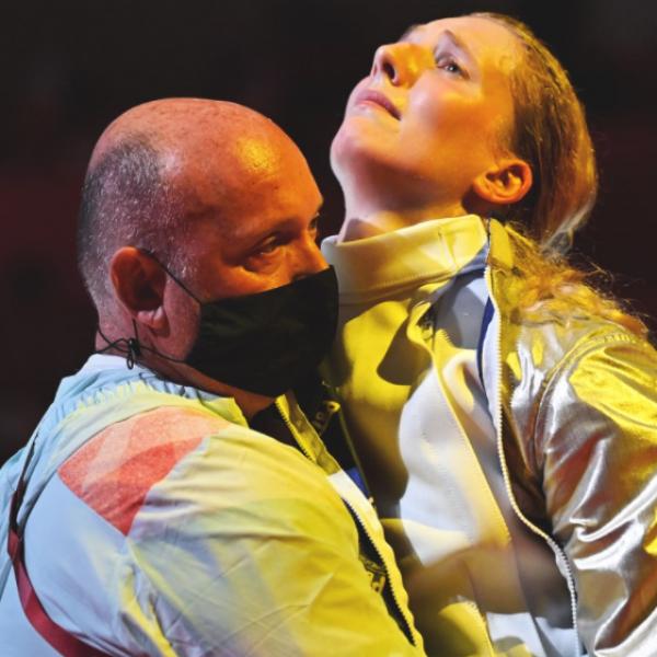 A mai nap hőse: Márton Anna, aki sérülten a fájdalmat leküzdve, könnyek között nyert