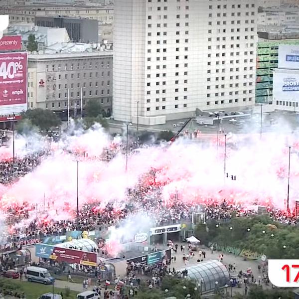 Ma volt a Varsói Felkelés 77. évfordulója - Egy percre megállt az élet Lengyelországban