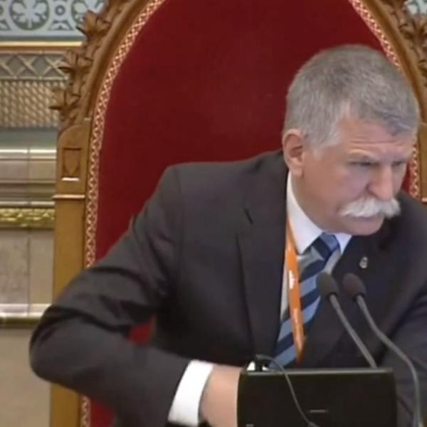 Kövér László nem hagyta szó nélkül a kommunista Arató uszítását - Videó