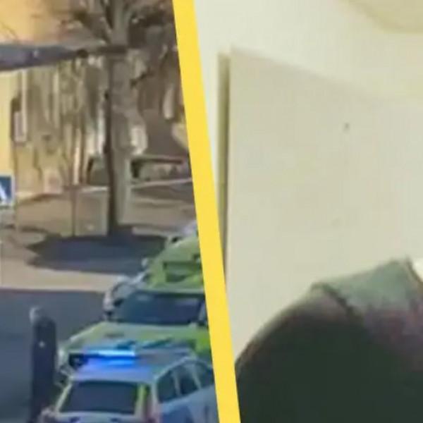 A 22 éves, afgán Tamim Sultani késelt tegnap a svéd kisvárosban