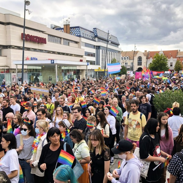 Elindult az első vidéki Pride Pécsen