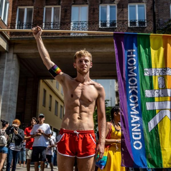 Kamu Geri beszéde a Pride-on: ő pajzs és a céltábla
