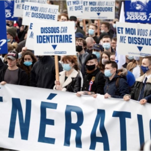 Feloszlatta a francia kormány a migránsellenes akciókat szervező Identitás Generációt