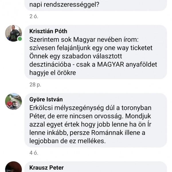 Elszáradt kutyaszarként tapossák el a magyarok Niedermüllert a Facebook-oldalán